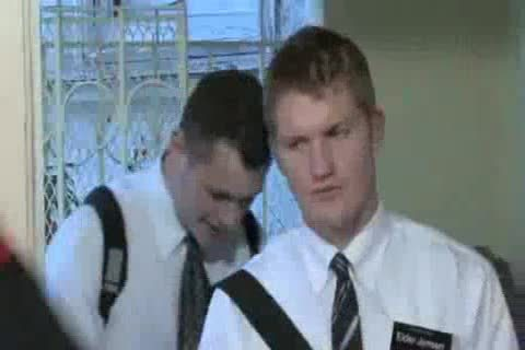 Teaching A Mormon Missionary teen
