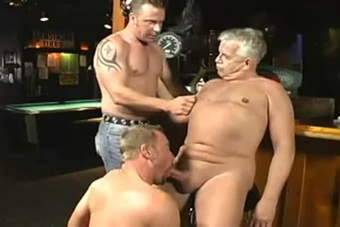 kinky Daddy And Two Younger males