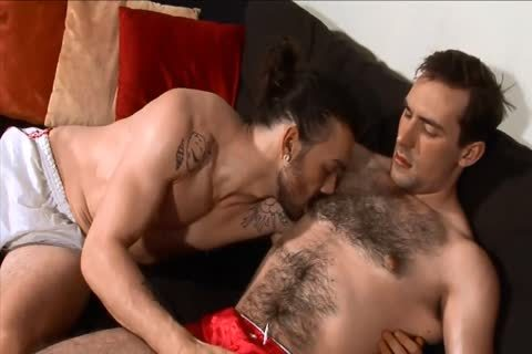 darksome-haired twinks engulfing And nailing.