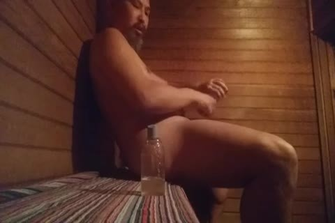 Sauna fun With dildos