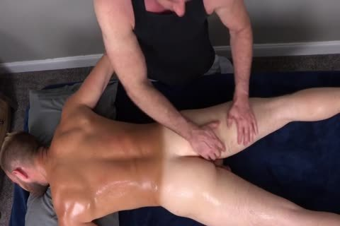 7a bushy Muscle Massage With wazoo plug