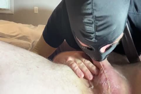 Alpha Surprises Fag cocksucker With another Sloppy Facefuck